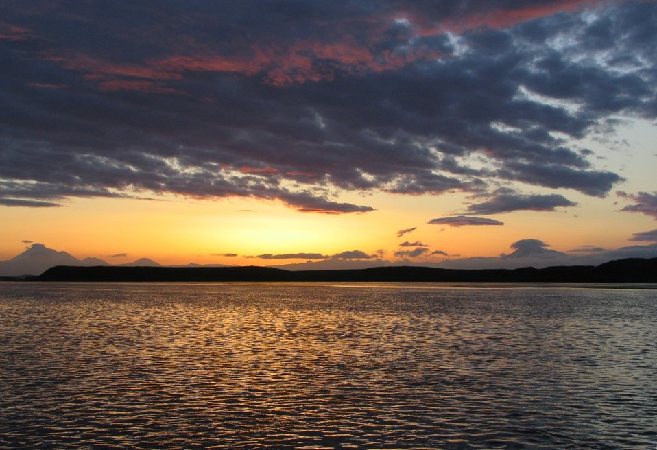 Sunrise at Izembek Lagoon