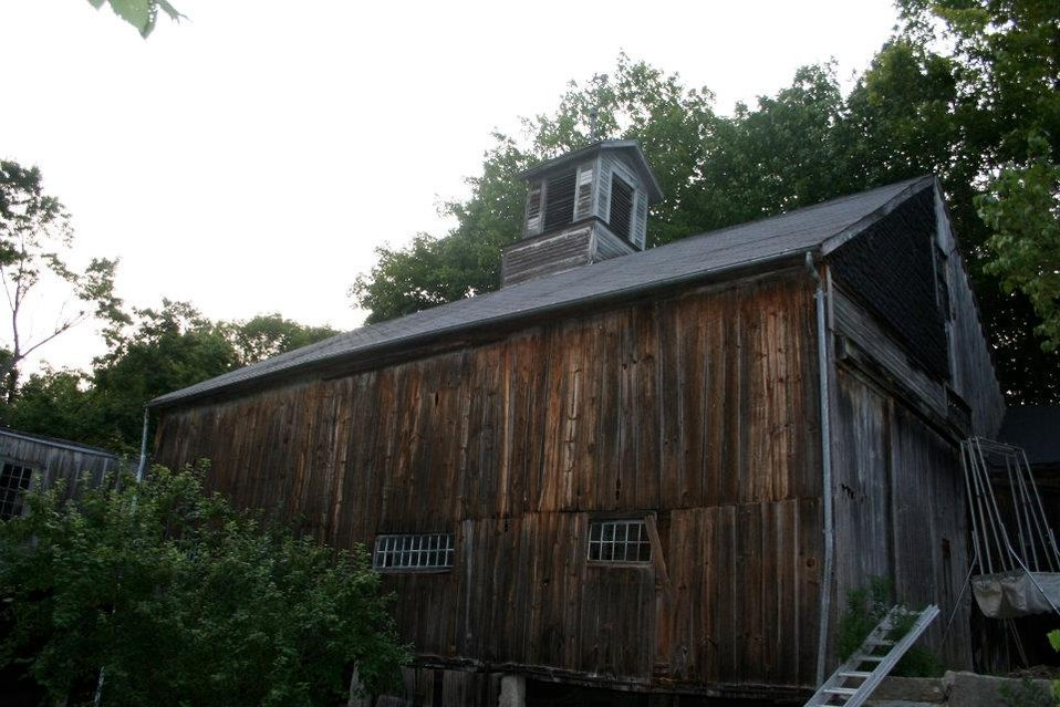 Massachusetts barn with little brown bat maternity colony