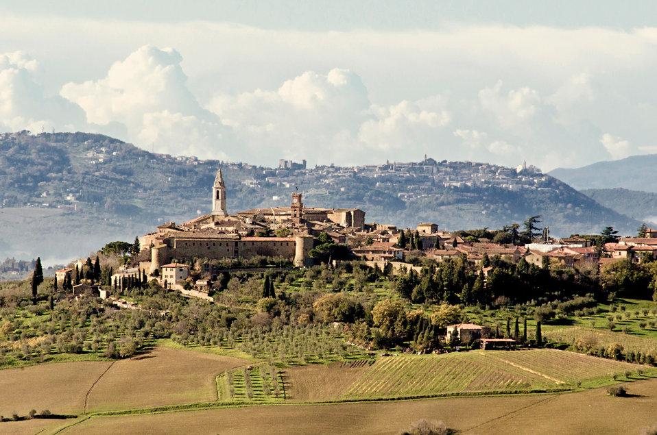 Pienza and montalcino