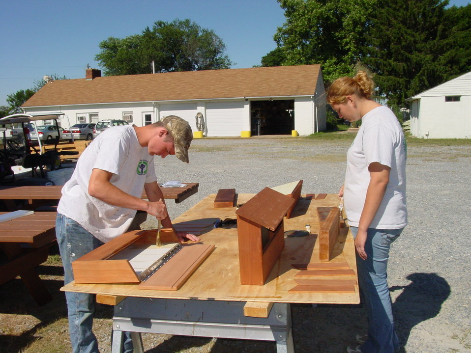 Constructing kiosks