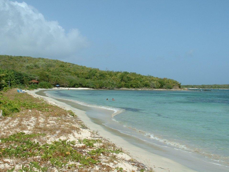 Vieques NWR beach