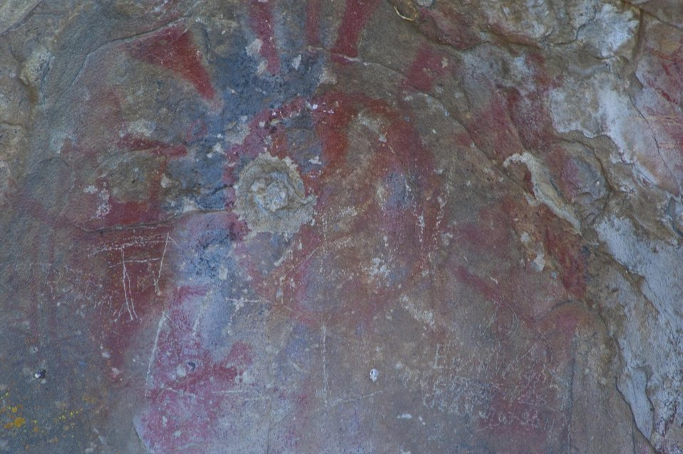 Pictograph at Painted Rock, Carrizo Plain 5