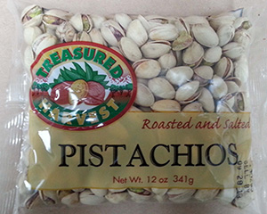RECALLED – Roasted and Salted Pistachios