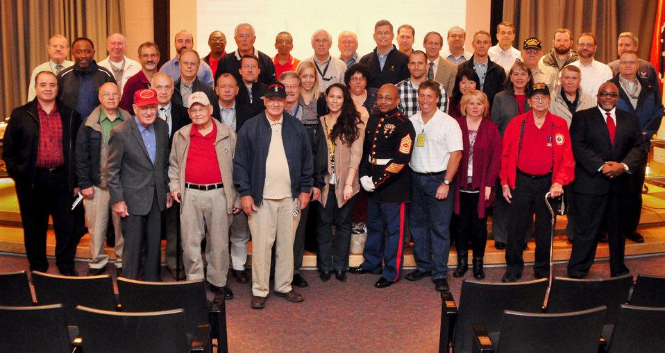 Veteran's Group at DOE ORO Veteran's Program Oak Ridge 2013