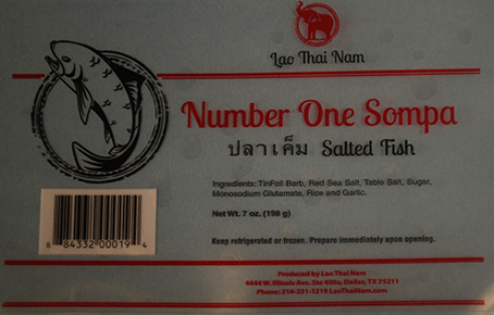 RECALLED – Salted fish