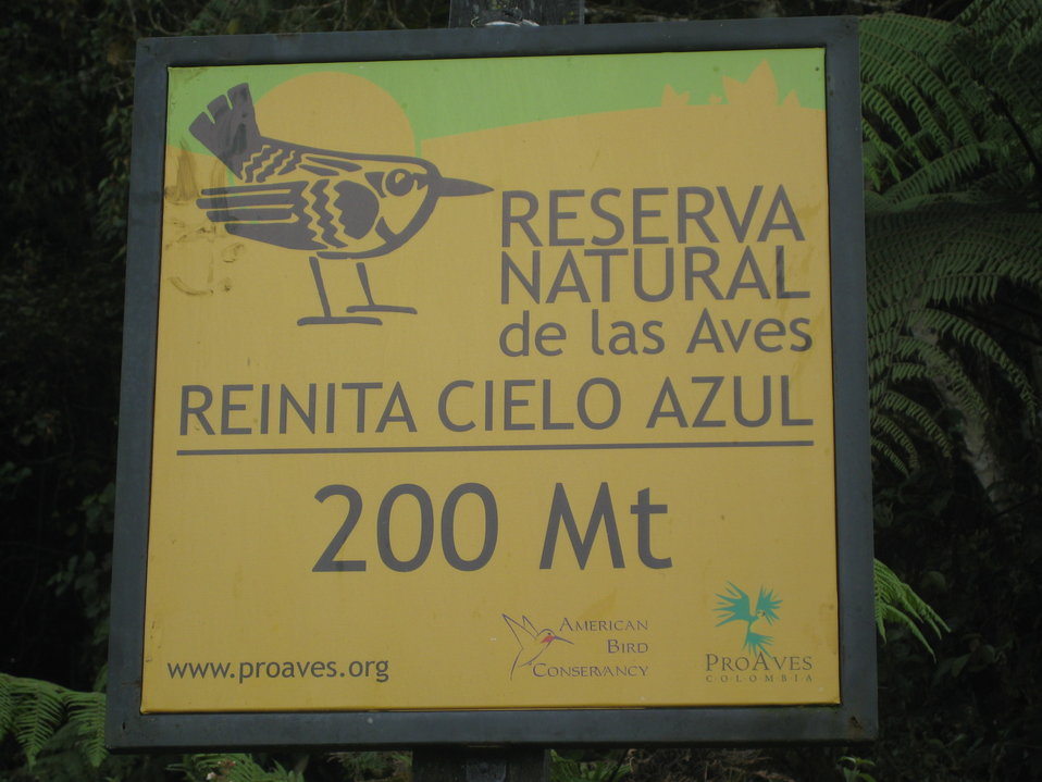 Reserva Natural de las Aves in Colombia