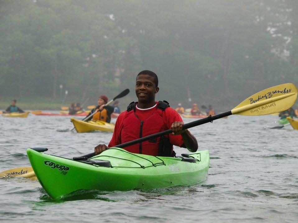 Tajaun Levy - 2010 Annual CIP Kayaking trip