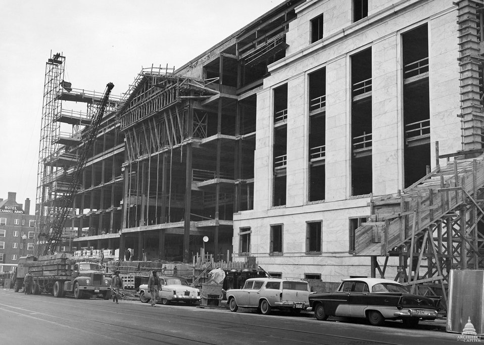 Dirksen Senate Office Building Construction