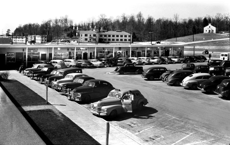 Jackson Square Shopping Center Oak Ridge 1948