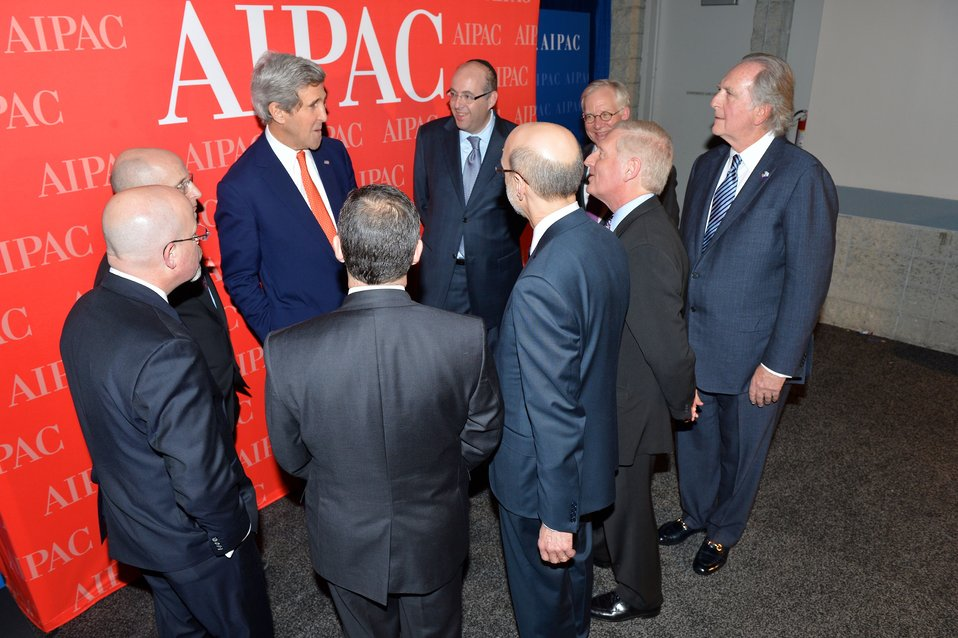 Secretary Kerry Meets With AIPAC Leaders