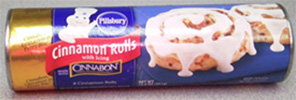 RECALLED – Pillsbury Cinnamon Rolls with Icing