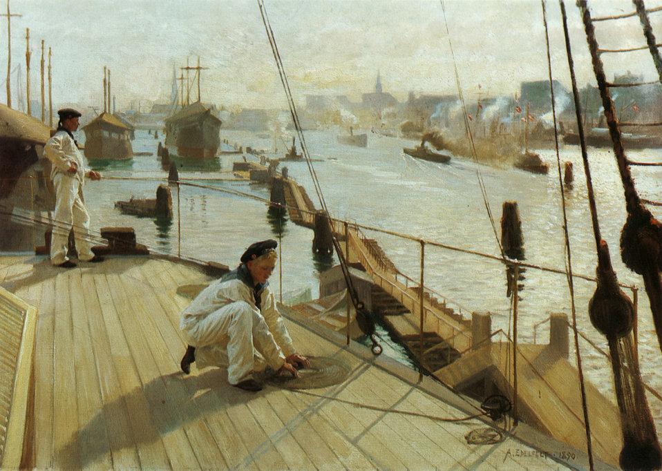 Albert Edelfelt - Kööpenhaminan Ankkuripaikalta II.jpg