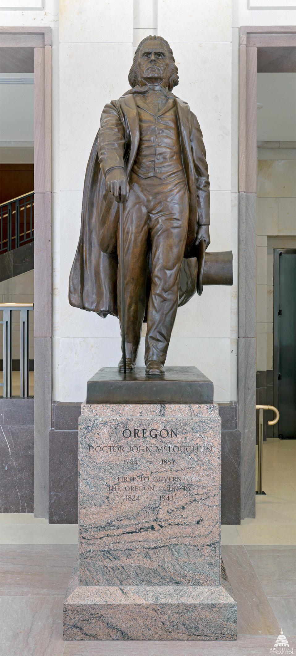John McLoughlin Statue