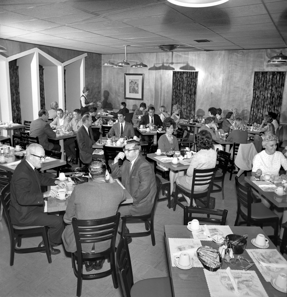 Restaurant in Oak Ridge 1968