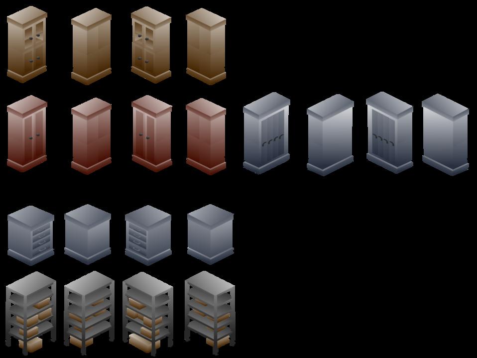 Isometric Cabinet