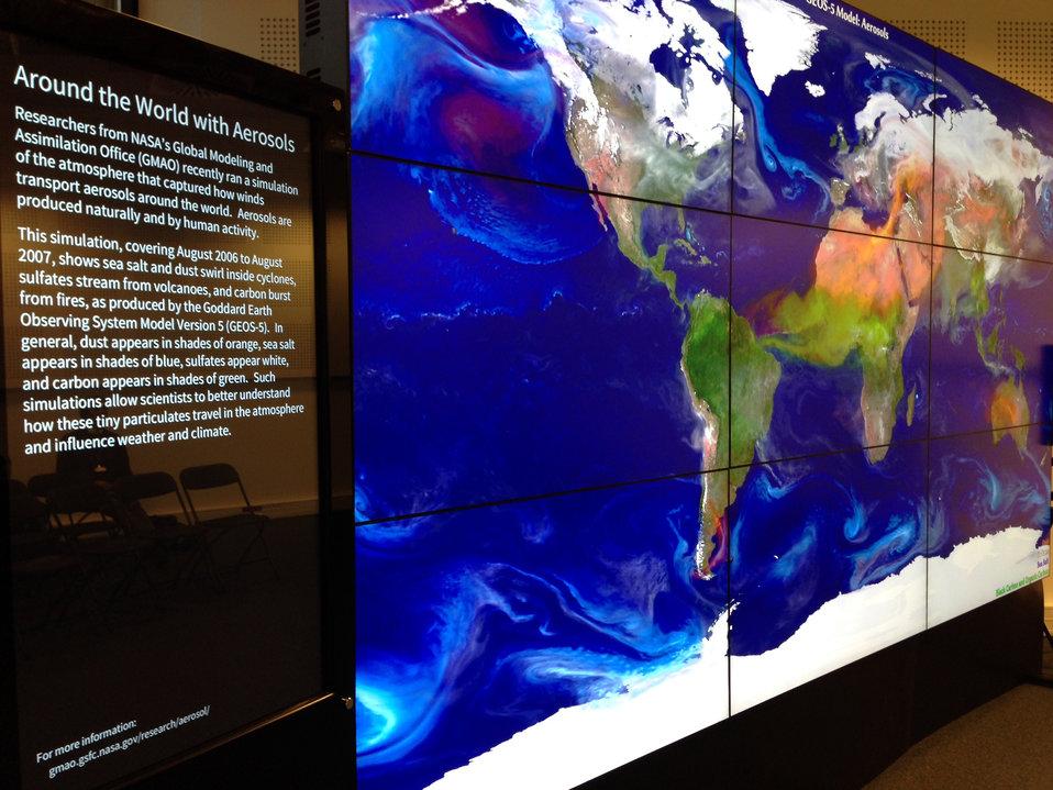 NASA's Doddridge Presents 'Aerosols and Atmospheric Composition'