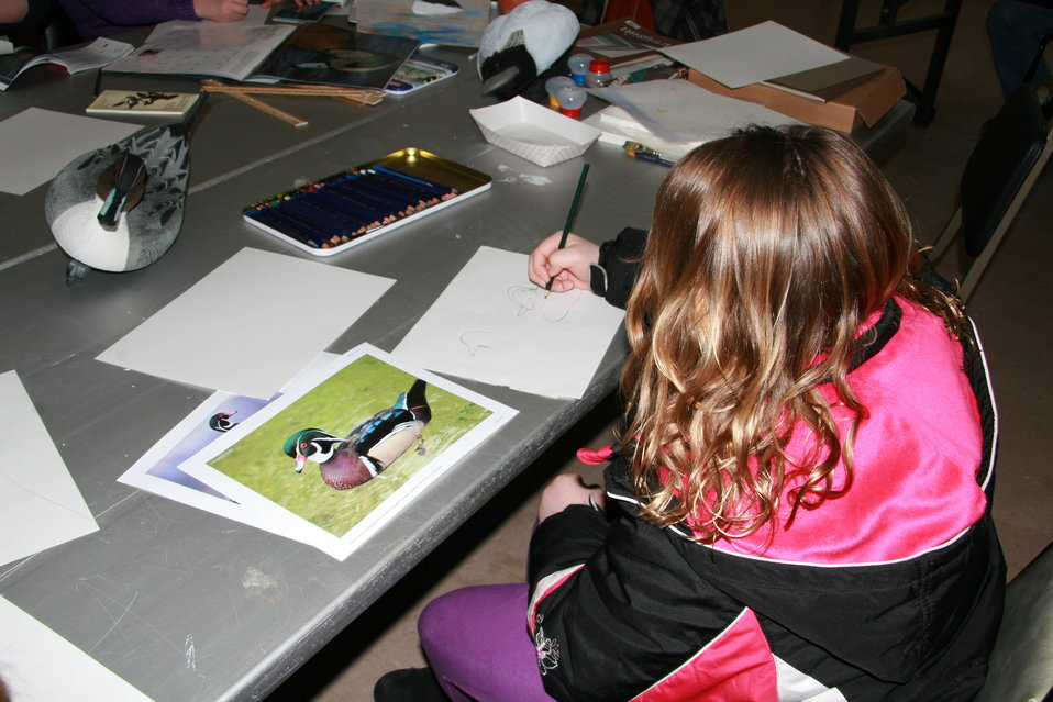 North Dakota Junior Duck Stamp Program