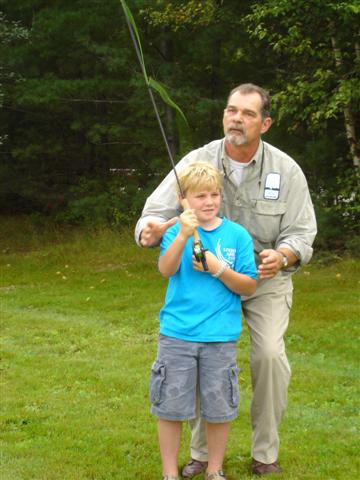 Nulhegan Wildlife Festival Fly Fishing Demo