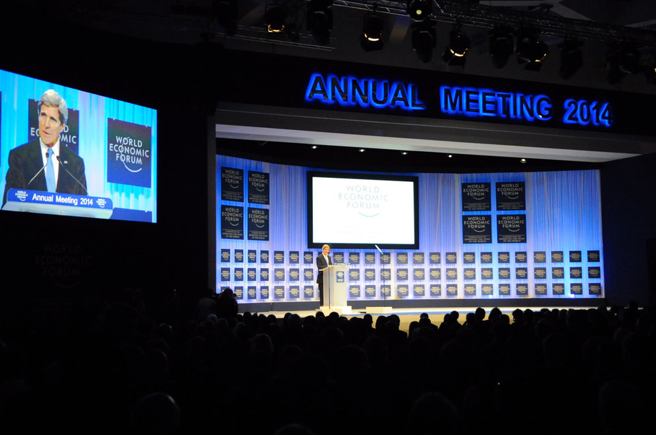 Secretary Kerry Delivers Keynote Address at 2014 World Economic Forum