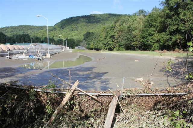 Damage and Flooding at White River National Fish Hatchery
