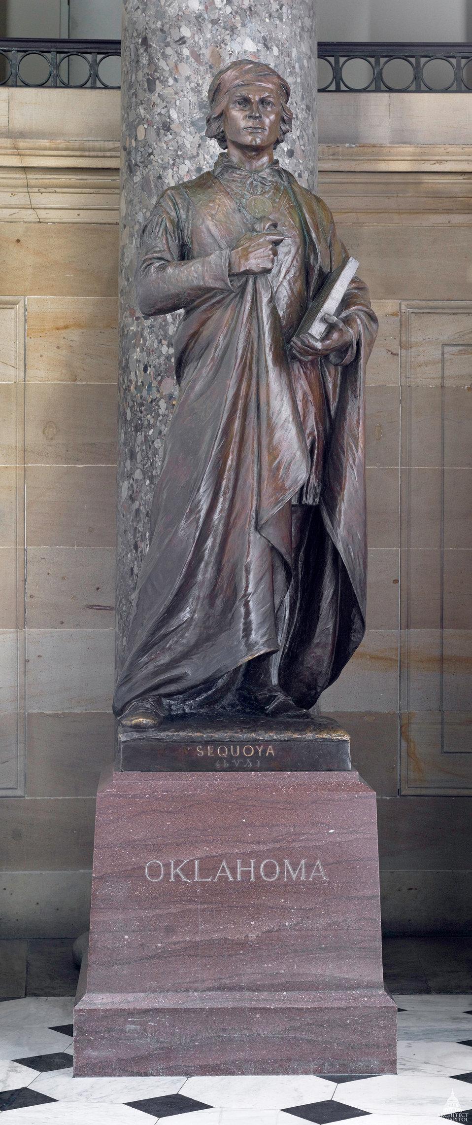Sequoya Statue