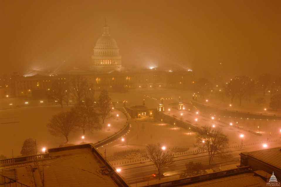 February 2010 Snowstorm at the U.S. Capitol