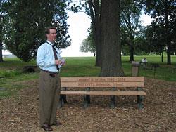 Leonard Miller's bench