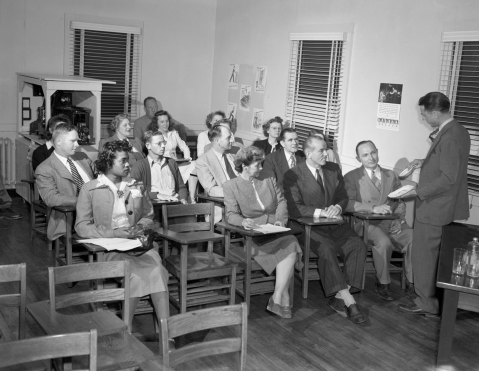 Health Department Meeting Oak Ridge 1947