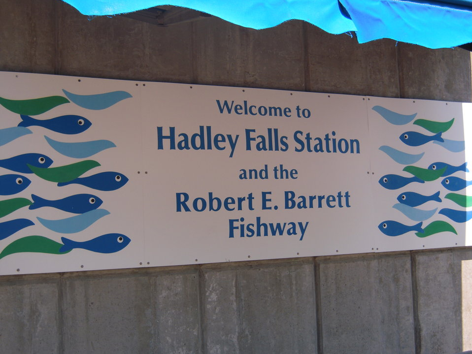 Arrive at at Hadley Falls Station