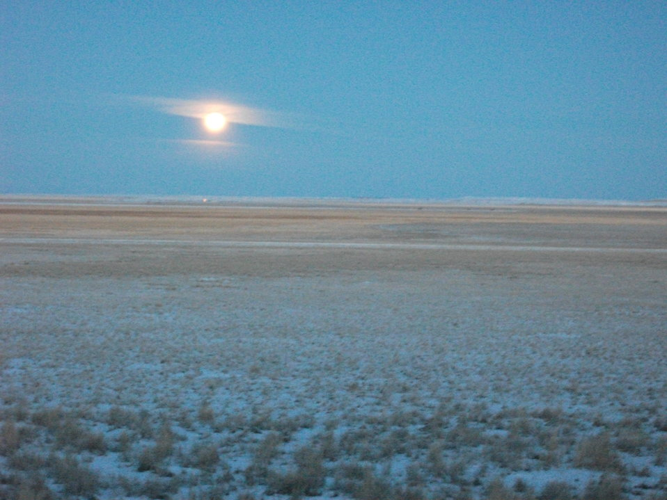 Full Moon On The Refuge
