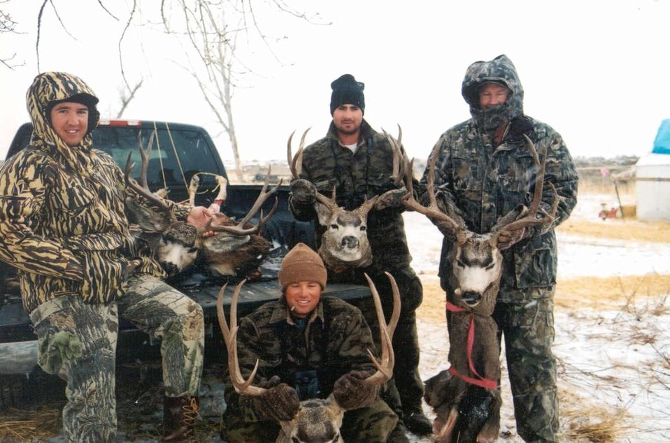Hunters and Bucks