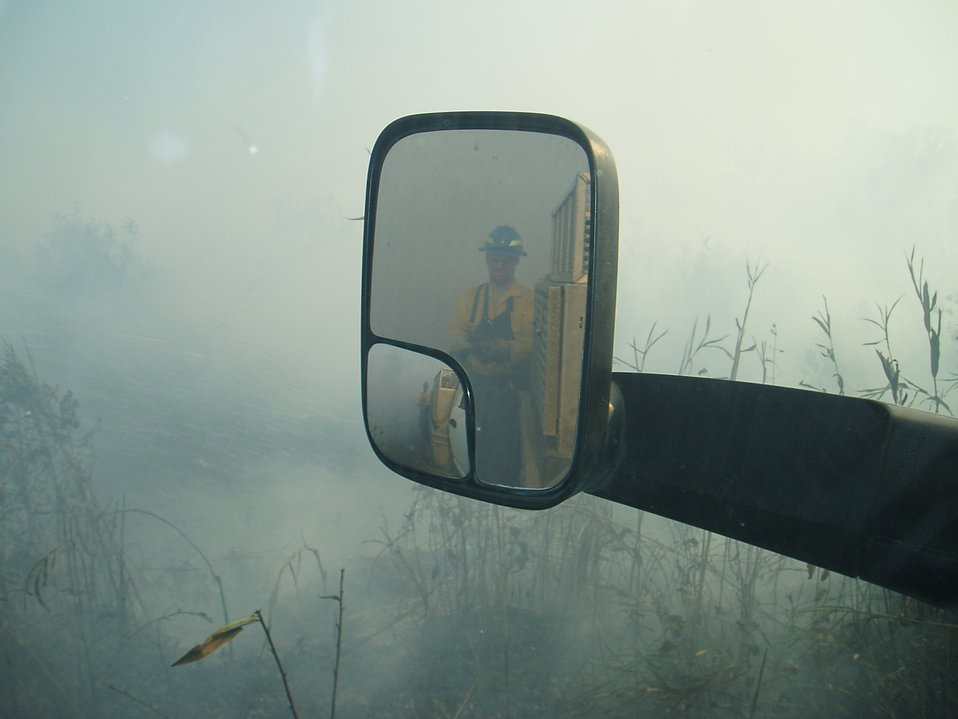 Firefighter reflection