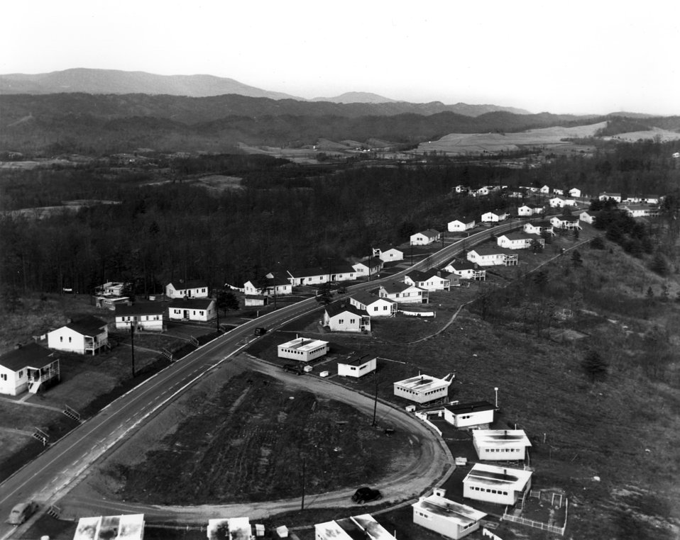 View From Water Tower of Homes in Oak Ridge