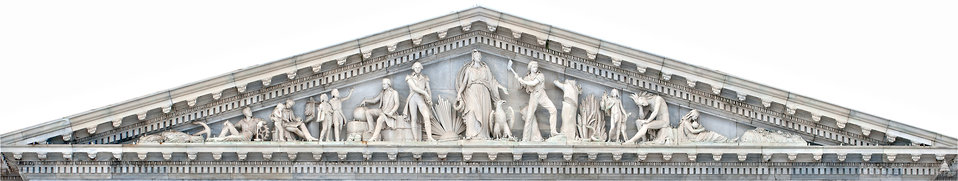 Progress of Civilization - Senate Pediment