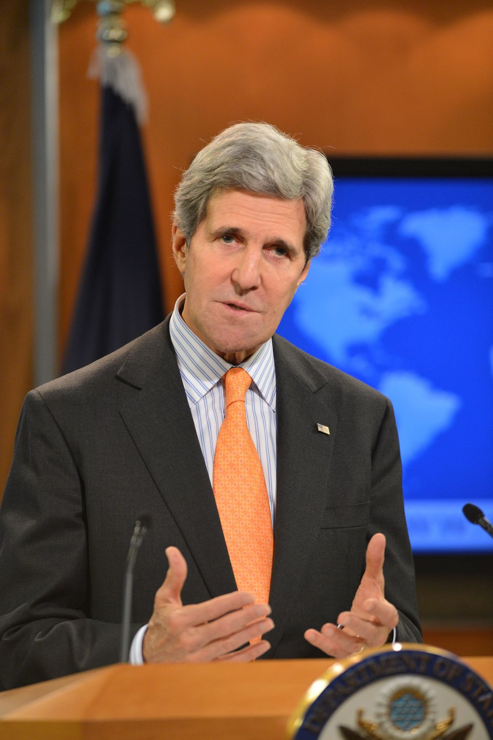 Secretary Kerry Delivers a Message on Syria