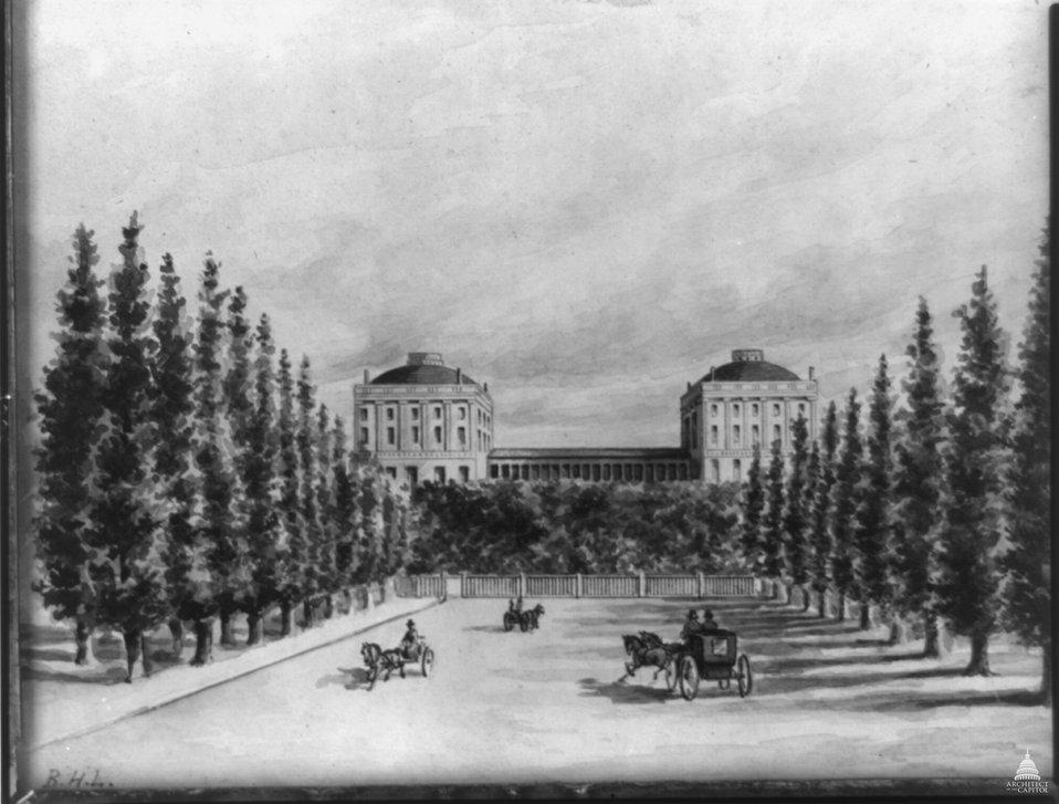 U.S. Capitol in 1814