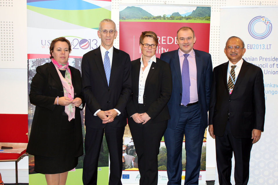 Representatives From U.S., U.K., Germany, Norway, and Indonesia Announce Funding for the Initiative for Sustainable Forest Landscapes