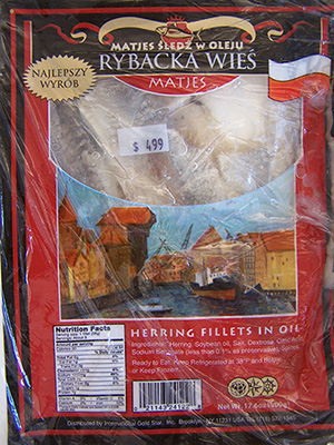 RECALLED – Herring fillets in oil