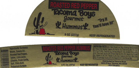 RECALLED – Hummus