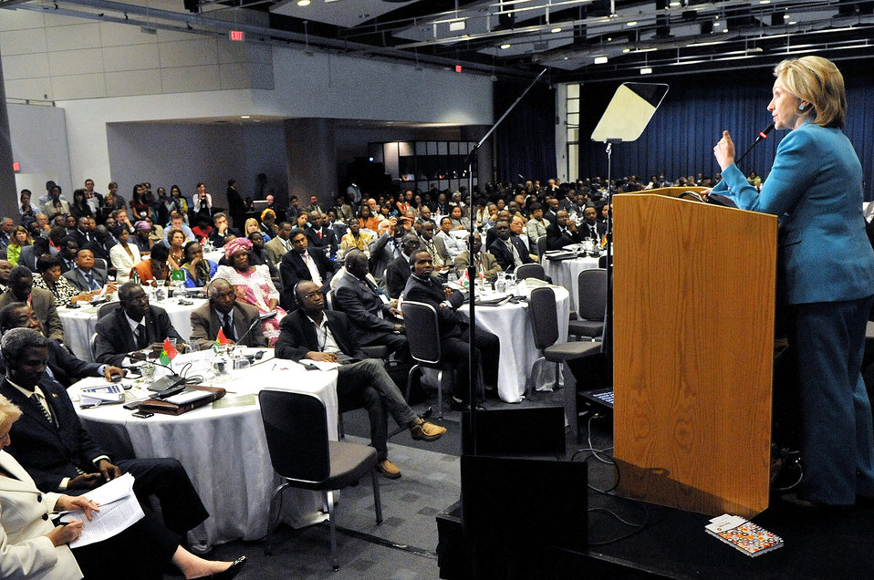 Secretary Clinton Delivers Remarks at the AGOA Forum