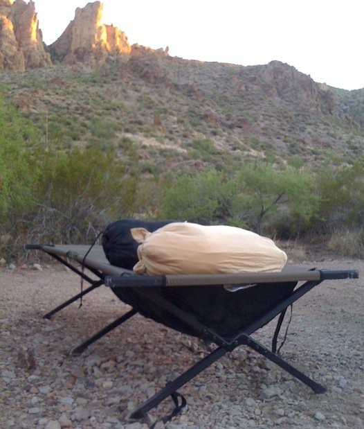 camping under the stars at Kofa National Wildlife Refuge, AZ