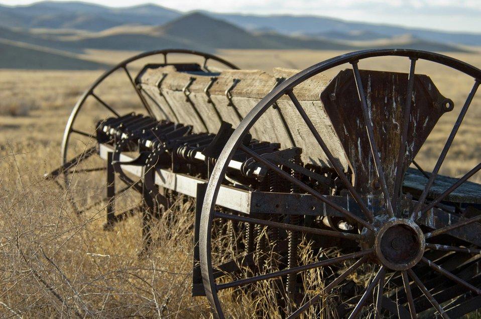 Farming Equipment left on the Carrizo Plain 1