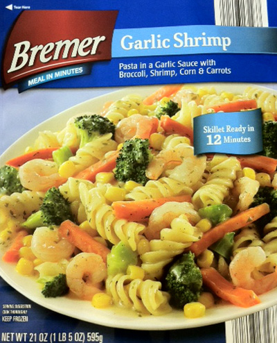 RECALLED - Garlic Shrimp Skillet Meal