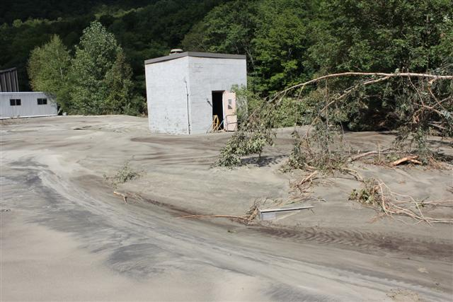 Damage after Irene