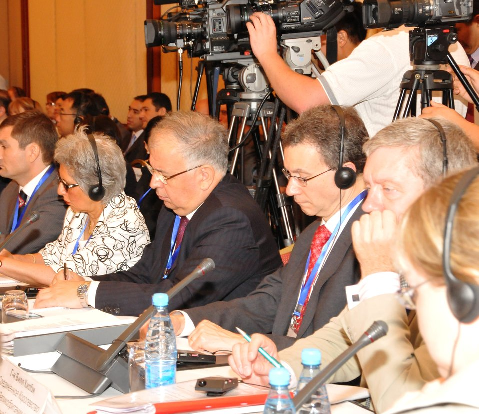 Coordinator Rosenblum Participates in International Donors' Conference for Kyrgyzstan