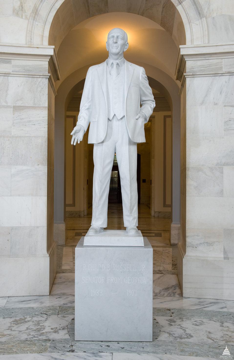 Richard B. Russell Statue