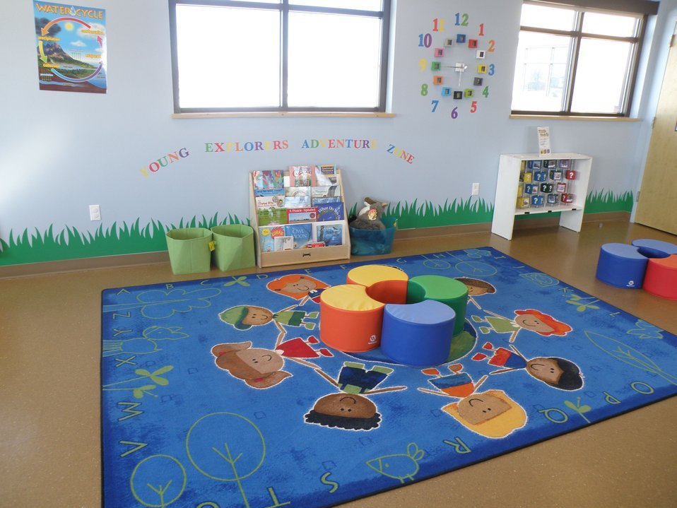 Discovery Room Reading Corner