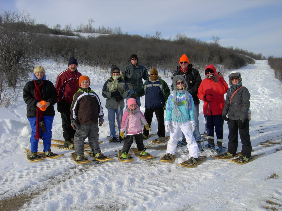 Let's Go Snowshoeing!