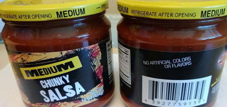 RECALLED – Salsa