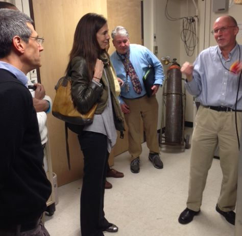Senate Science Committee tours Boulder
